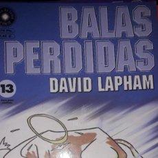 Comics : BALAS PERDIDAS #13, DE DAVID LAPHAM. Lote 236849360