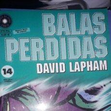 Cómics: BALAS PERDIDAS #14, DE DAVID LAPHAM. Lote 236849380