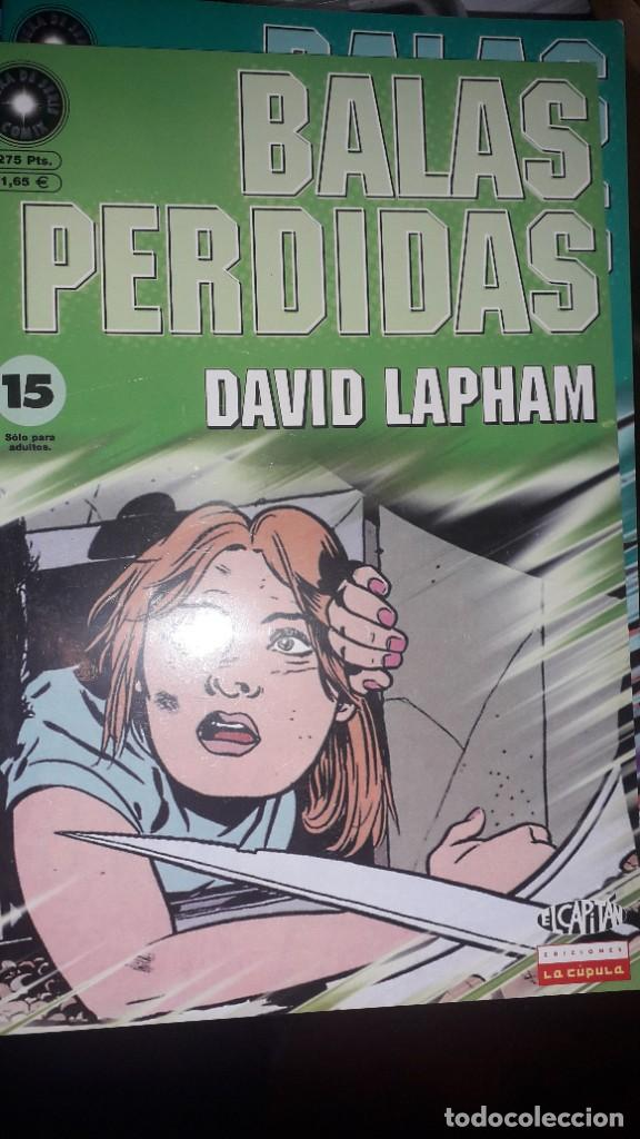 BALAS PERDIDAS #15, DE DAVID LAPHAM (Tebeos y Comics - La Cúpula - Comic USA)
