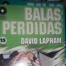 Comics : BALAS PERDIDAS #15, DE DAVID LAPHAM. Lote 236849410