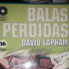 Comics : BALAS PERDIDAS #16, DE DAVID LAPHAM. Lote 236849430
