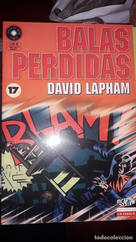 BALAS PERDIDAS #17, DE DAVID LAPHAM (Tebeos y Comics - La Cúpula - Comic USA)