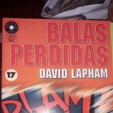 Comics : BALAS PERDIDAS #17, DE DAVID LAPHAM. Lote 236849440