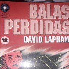 Cómics: BALAS PERDIDAS #18, DE DAVID LAPHAM. Lote 236849455