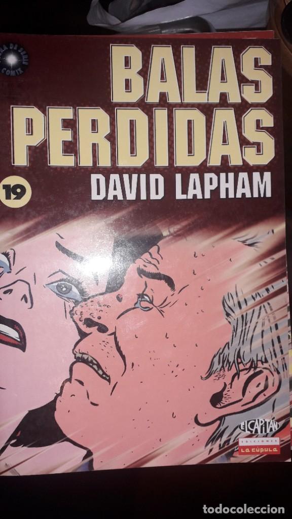BALAS PERDIDAS #19, DE DAVID LAPHAM (Tebeos y Comics - La Cúpula - Comic USA)