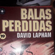 Comics : BALAS PERDIDAS #19, DE DAVID LAPHAM. Lote 236849470