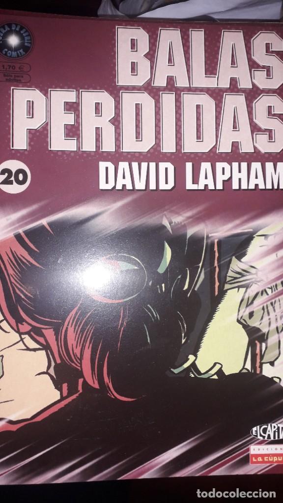BALAS PERDIDAS #20, DE DAVID LAPHAM (Tebeos y Comics - La Cúpula - Comic USA)
