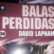 Cómics: BALAS PERDIDAS #20, DE DAVID LAPHAM. Lote 236849490