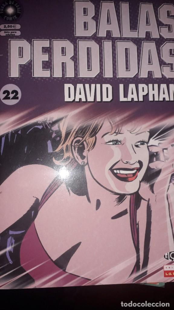 BALAS PERDIDAS #22, DE DAVID LAPHAM (Tebeos y Comics - La Cúpula - Comic USA)