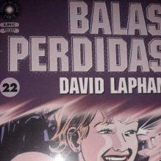 Cómics: BALAS PERDIDAS #22, DE DAVID LAPHAM. Lote 236849525