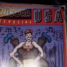 Cómics: EL VÍBORA ESPECIAL U.S.A.. Lote 236855485