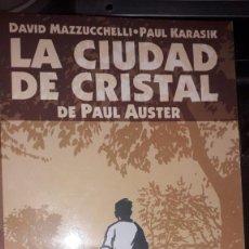 Cómics: LA CIUDAD DE CRISTAL DE PAUL AUSTER, POR DAVID MAZZUCCHELLI & PAUL KARASIK #2 DE 3. Lote 236872250