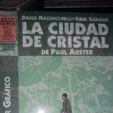 Cómics: LA CIUDAD DE CRISTAL DE PAUL AUSTER, POR DAVID MAZZUCCHELLI & PAUL KARASIK #3 DE 3. Lote 236872625