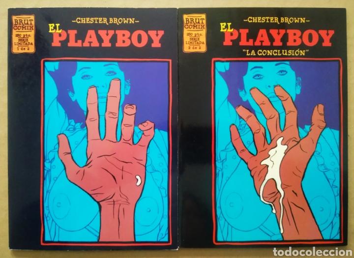LOTE EL PLAYBOY, DE CHESTER BROWN (LA CÚPULA, 1995). SERIE LIMITADA COMPLETA, Nº1-2. BRUT CÓMIX. (Tebeos y Comics - La Cúpula - Comic USA)