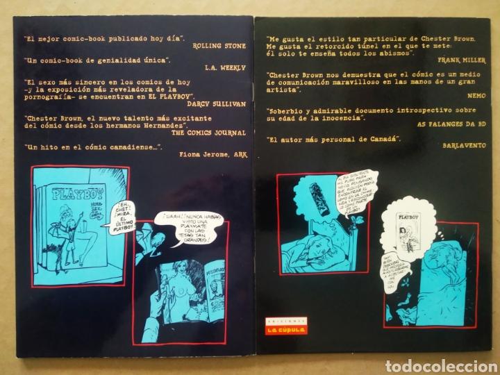 Cómics: Lote El Playboy, de Chester Brown (La Cúpula, 1995). Serie Limitada Completa, nº1-2. Brut Cómix. - Foto 2 - 237140815