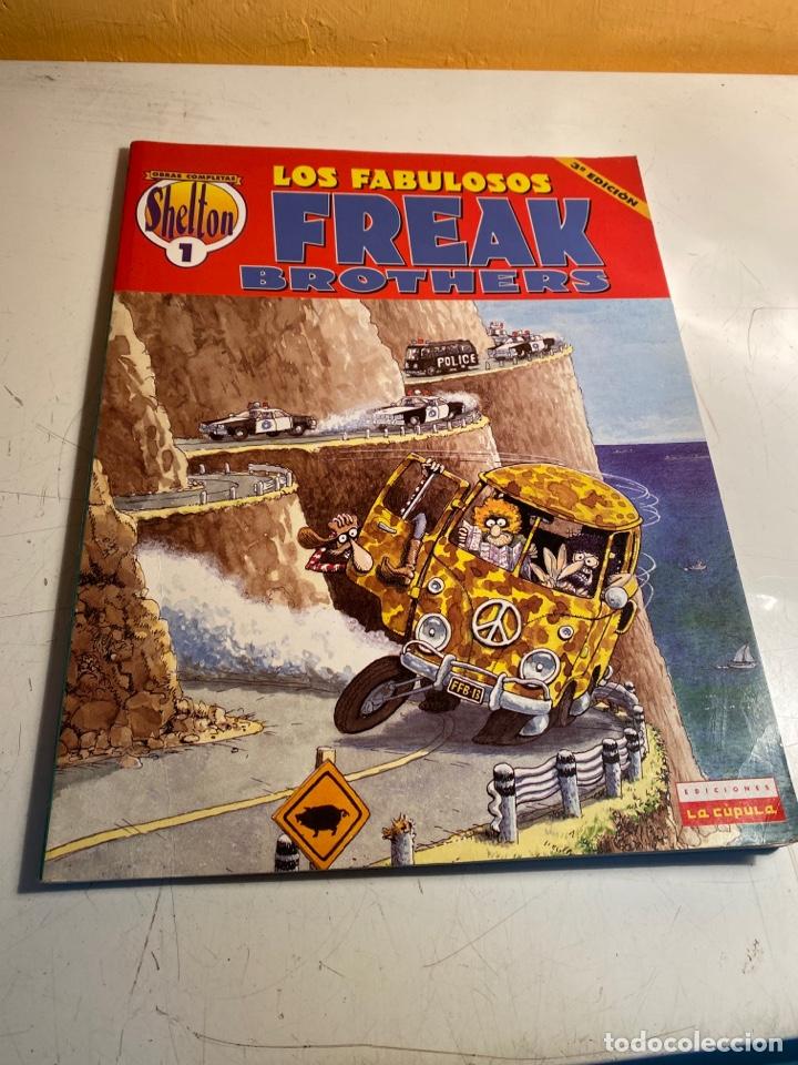 LOS FABULOSOS FREAK BROTHERS (Tebeos y Comics - La Cúpula - Comic USA)