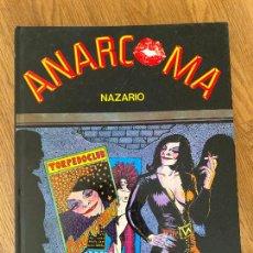 Comics : ANARCOMA - NAZARIO - LA CUPULA - TAPA DURA - GCH. Lote 238567625