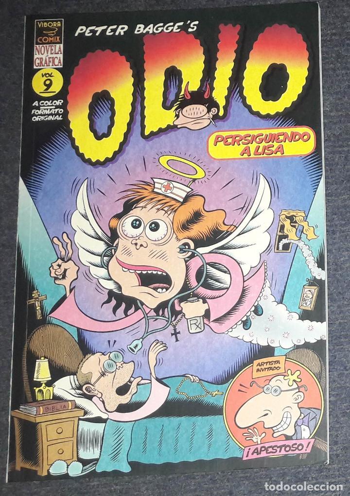 ODIO VOL 9 PERSIGUIENDO A LISA PETER BAGGE ' S VIBORA COMIX EDICIONES LA CUPULA (Tebeos y Comics - La Cúpula - Comic Europeo)