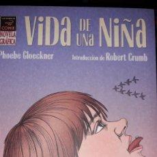 Comics : VIDA DE UNA NIÑA, DE PHOEBE GLOECKNER. Lote 239931060