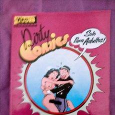Cómics: DIRTY COMICS COMICS PORNO SATIRICOS DE LOS AÑOS 30. Lote 240736390