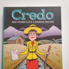 Comics : CREDO ROSE WILDER LANE. PETER BAGGE. AH. Lote 240783290