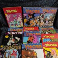 Comics : EL VIBORA - LOTE DE 13 TOMOS RECOPILATORIOS ( CONTIENEN 42 COMICS EL VIBORA ). Lote 241236270