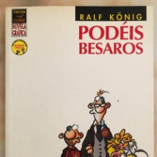 Cómics: PODÉIS BESAROS RALF KÖNIG ED. LA CÚPULA. Lote 241554535
