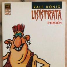 Cómics: LISÍSTRATA RALF KÖNIG ED. LA CÚPULA. Lote 241554915
