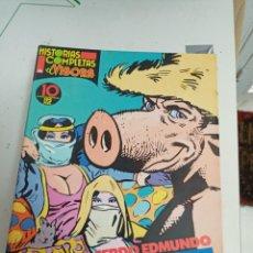 Comics : X HISTORIAS COMPLETAS EL VIBORA Nº 10. EL CERDO EDMUNDO, DE ROCHETTE Y VEYRON (LA CUPULA). Lote 242490795