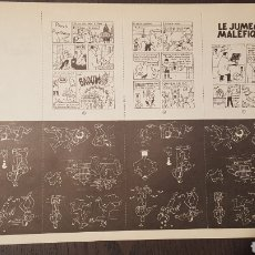Cómics: FANZINE - LES AVENTURES DE LANCEVAL - LE JUMEAU MALEFIQUE - TINTIN APOCRIFO - ZAP COMICS. Lote 242922930
