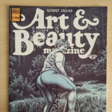 Cómics: ART & BEAUTY MAGAZINE | ROBERT CRUMB. Lote 243024340