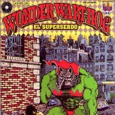 Cómics: WONDER WART-HOG (LA CUPULA) Nº 1. Lote 243101060