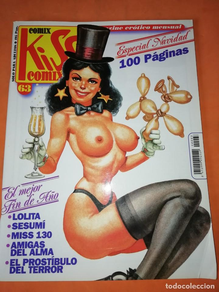 KISS COMIX. Nº 63. CIEN PAGINAS. EDICIONES LA CUPULA 1996 (Tebeos y Comics - La Cúpula - El Víbora)