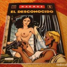 Cómics: EL DESCONOCIDO 1 MAGNUS VIBORA LA CUPULA. Lote 244534135