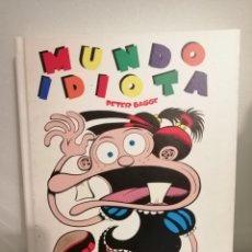Cómics: CÓMIC INTEGRAL 1 DE MUNDO IDIOTA DE PETER BAGGE. Lote 244665075