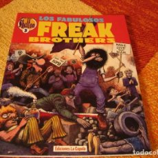Cómics: LOS FABULOSOS FREAK BROTHERS GILBERT SHELTON 3. Lote 244850415
