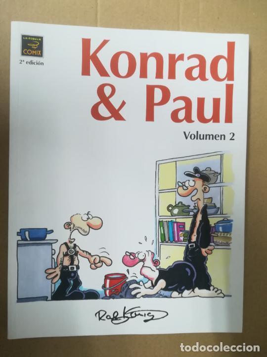 KONRAD & PAUL. VOLUMEN 2. RALF KONIG. LA CÚPULA (Tebeos y Comics - La Cúpula - Comic Europeo)