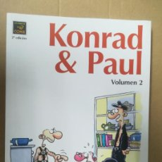 Cómics: KONRAD & PAUL. VOLUMEN 2. RALF KONIG. LA CÚPULA. Lote 245303325