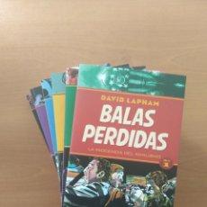 Cómics: BALAS PERDIDAS. DAVID LAPHAM. Lote 245929420