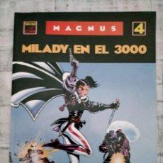 Cómics: MAGNUS MILADY EN EL 3000 N 4 EDICIONES LA CUPULA. Lote 245940720