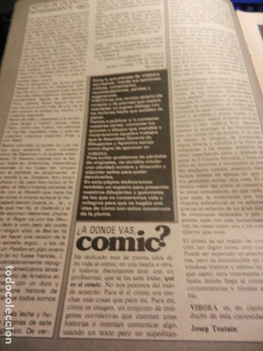 Cómics: EL VIBORA Nº 1 COMIC PARA ADULTOS - EDITADO EN 1979- 1ª EDICIÓN. - Foto 5 - 178801862