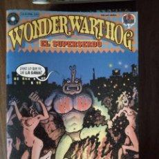 Cómics: WONDER WART-HOG EL SUPERSERDO 2 DE 10 - GILBERT SHELTON. Lote 246041620