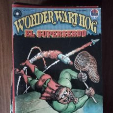 Cómics: WONDER WART-HOG EL SUPERSERDO 4 DE 10 - GILBERT SHELTON. Lote 246041705