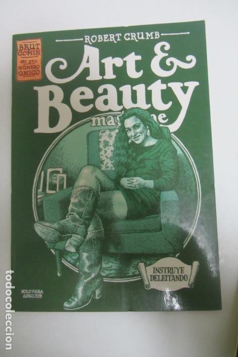 ROBERT CRUMB ART & BEAUTY MAGAZINE BRUT COMIX 1 LA CUPULA COMUCHOS EN VENTA MIRA TUS FALTAS E8X3 (Tebeos y Comics - La Cúpula - Comic USA)