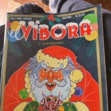 Cómics: EL VIBORA TERCER ANIVERSARIO NÚMEROS 37 Y 38. Lote 246063040