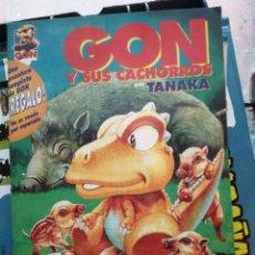 Cómics: GON Y SUS CACHORROS - TANAKA. Lote 246325260