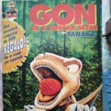 Cómics: GON VA BUSCAR SETAS - TANAKA. Lote 246325345