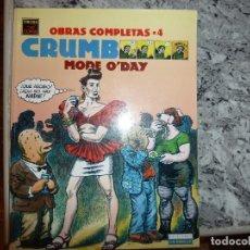 Cómics: CRUMB OBRAS COMPLETAS 4. MODE O'DAY. Lote 247004325