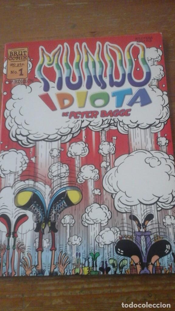 MUNDO IDIOTA. N.1 (Tebeos y Comics - La Cúpula - Comic USA)