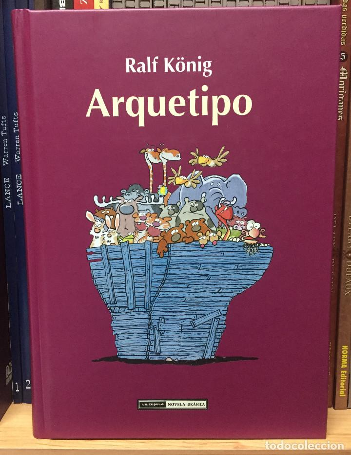 ARQUETIPO, DE RALF KONIG. LA CÚPULA (Tebeos y Comics - La Cúpula - Comic Europeo)